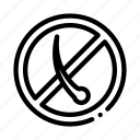 anti, hair, loss, mark, medical icon