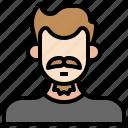 moustache, man, masculinity, facial, hair, beauty, user