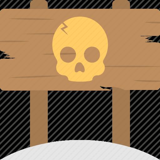 danger sign, halloween celebration, halloween decor, halloween theme, terror sign icon
