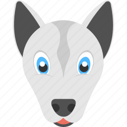 animal costume, animal mask, dog costume, dog mask, halloween icon