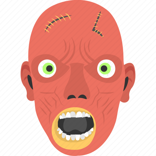 ghost, ghost face, halloween mask, halloween with fangs, undead spirit icon