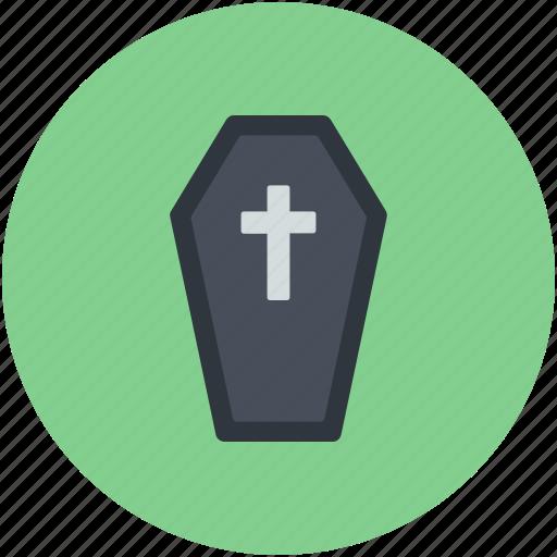 casket, dreadful, halloween casket, halloween coffin, horrible icon