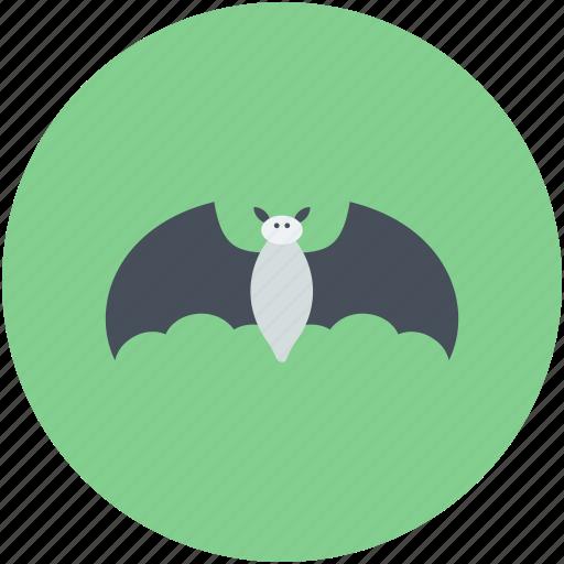 bat, dreadful, evil bat, halloween bat, scary icon