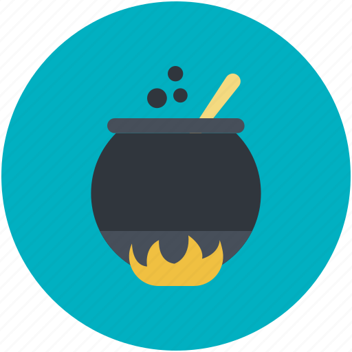 halloween cauldron, halloween cooking pot, halloween cookpot, halloween pot, scary icon