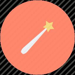 halloween magic stick, halloween wand, magic stick, magic wand, magician wand icon