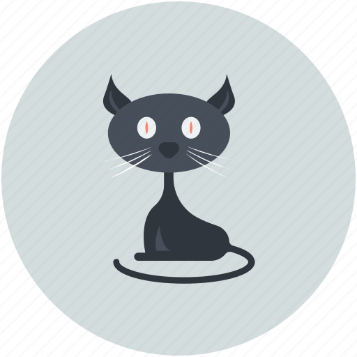 black cat, black evil cat, cat, evil cat, scary icon