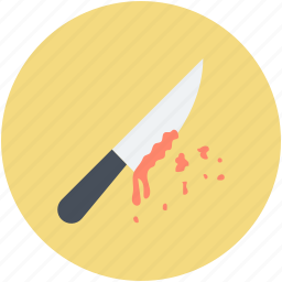 bloody knife, halloween bloody knife, halloween butcher knife, knife with blood icon