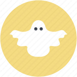 frightening, ghost, halloween ghost, scary, spooky icon