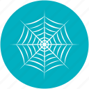 dreadful, spider web, horrible, halloween web, scary