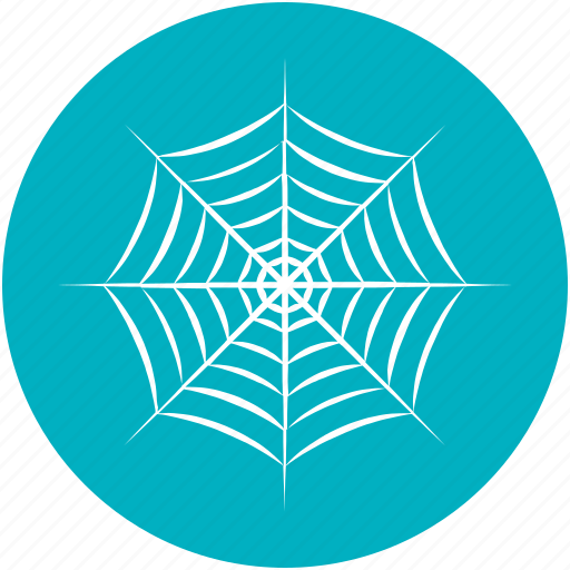 dreadful, halloween web, horrible, scary, spider web icon