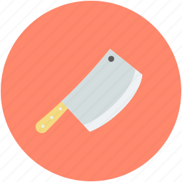 bloody cleaver, bloody knife, halloween bloody knife, halloween butcher knife, knife with blood icon