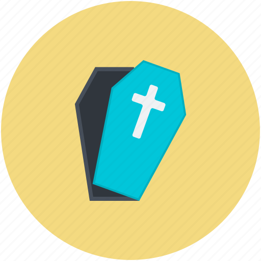 casket, dreadful, halloween casket, halloween coffin, horrible icon
