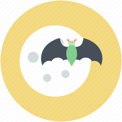 Bat, dreadful, evil bat, halloween bat, scary icon - Download on Iconfinder