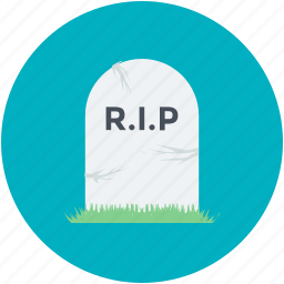 dreadful, halloween gravestone, halloween tombstone, headstone, tombstone icon