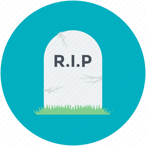 Dreadful, halloween gravestone, halloween tombstone, headstone, tombstone icon - Download on Iconfinder