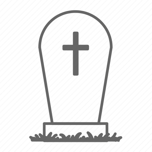 Evil, grave, graveyard, halloween, horror, tomb, tombstone icon - Download on Iconfinder
