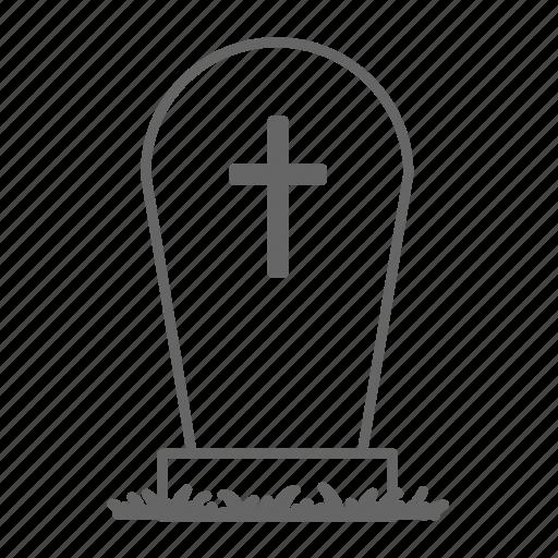 evil, grave, graveyard, halloween, horror, tomb, tombstone icon
