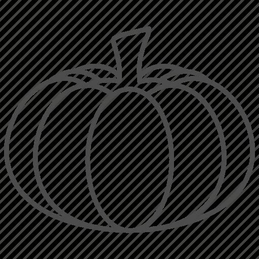 food, gourd, pumpkin, vegetable icon