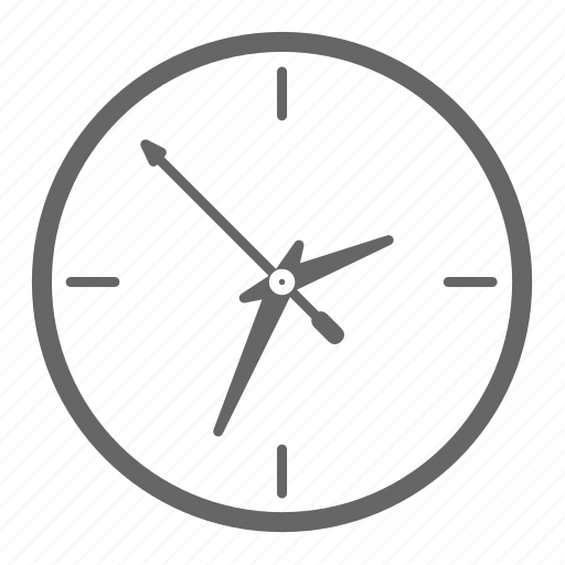 alarm, clock, schedule, time, timer, wall, watch icon