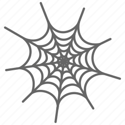 evil, halloween, horror, spider, spider web, web icon