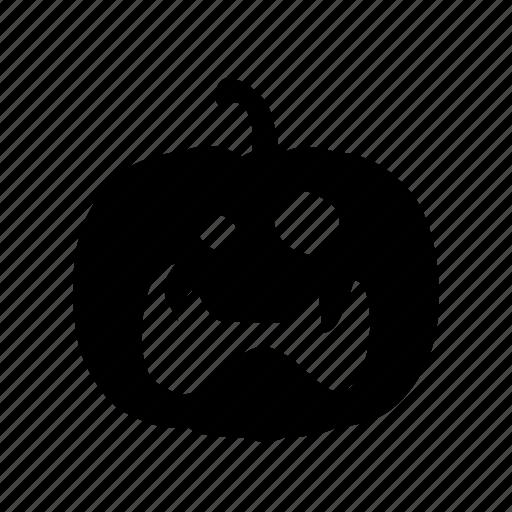 face, halloween, pumpkin, scary icon