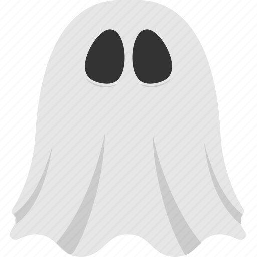 ghost, halloween accessory, halloween character, scary ghost, spooky ghost icon