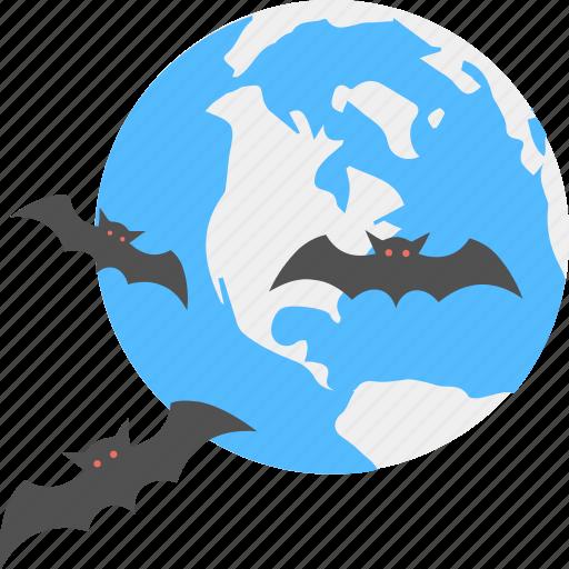 evil bat, halloween bat, halloween night, horror eve, scary image icon