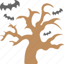 creepy mojave landscape, dead tree, halloween decoration, halloween tree, horrible scene icon
