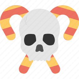 frightening festival, halloween celebration, halloween event, halloween party, spooky cranium icon