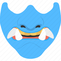 demon mouth, halloween denture fangs, halloween monster mask, halloween mouth, vampire mouth icon