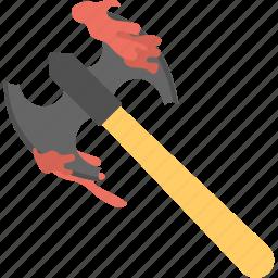 axe, cleaver, halloween, halloween accessory, spirit halloween icon