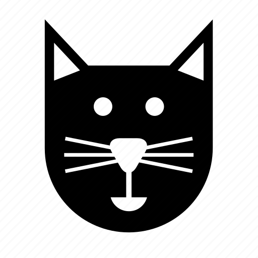 animal, cat, eve, face, halloween, pet icon