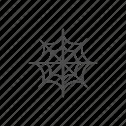 bat, halloween, hallowen, line, outline, spider icon