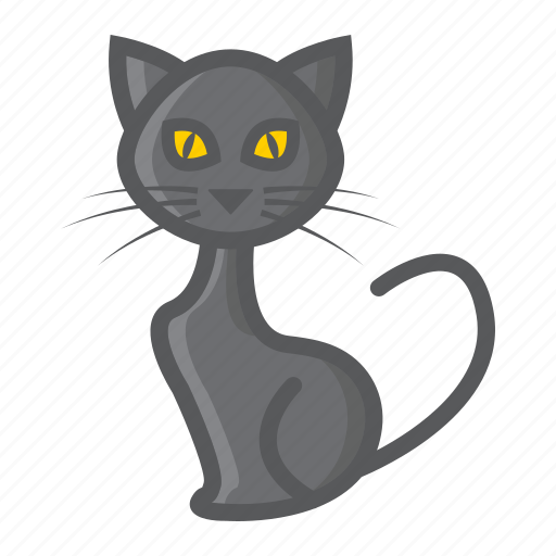 animal, cat, halloween, holiday, kitten, pet, witch icon