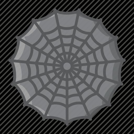 cobweb, halloween, holiday, net, scary, spider, web icon
