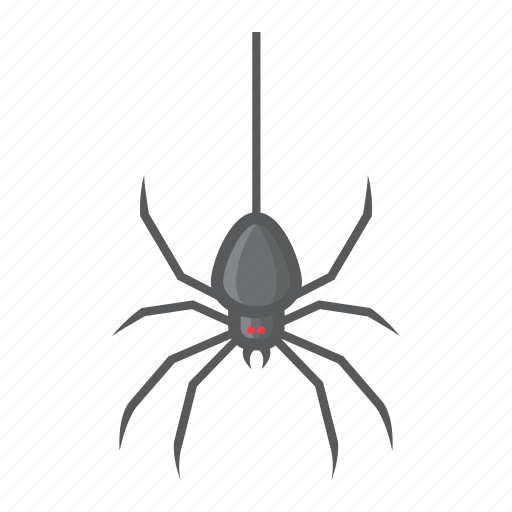 bug, danger, fear, halloween, holiday, scary, spider icon