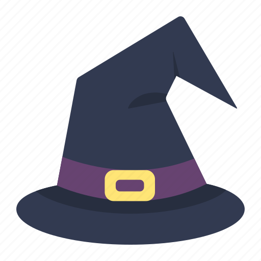 halloween, hat, holiday, magic, scary, witch, wizard icon