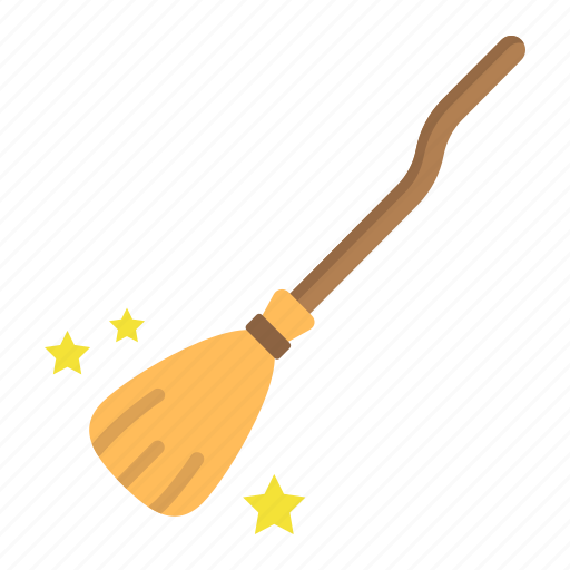 broom, broomstick, halloween, holiday, magic, witch, wizard icon