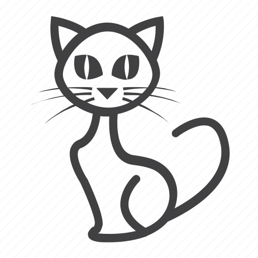 animal, cat, halloween, holiday, kitten, pet, witch icon