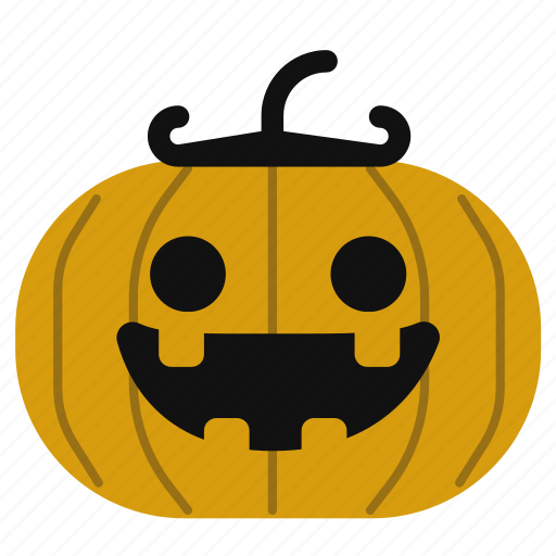 cartoon, cute, halloween, horror, jack o lantern, pumpkin icon