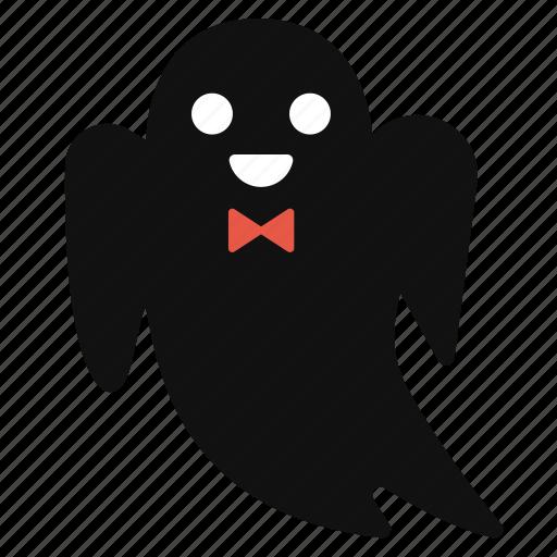 Cartoon, cute, ghost, halloween, horror, spirit icon