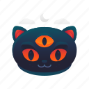 cat, halloween, monster, scary, spooky icon