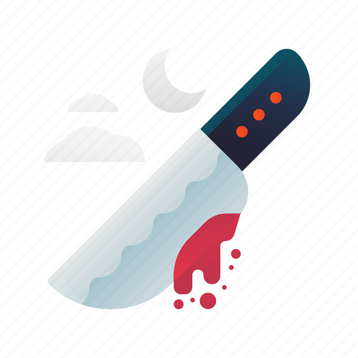 halloween, knife, scary, spooky, weapon icon
