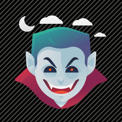 halloween, monster, scary, spooky, vampire icon