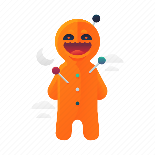 doll, halloween, scary, spooky, voodoo icon