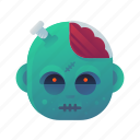 halloween, monster, scary, spooky, zombie icon