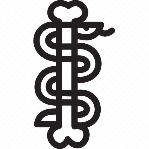 halloween, holiday, snake icon