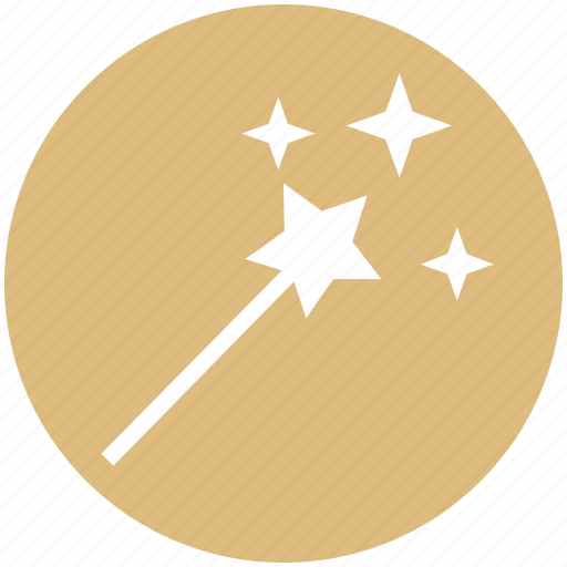 halloween, halloween magic stick, magic stick, magic wand, magician wand icon