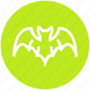 bat, dreadful, evil bat, fearful, halloween bat, horrible, scary icon