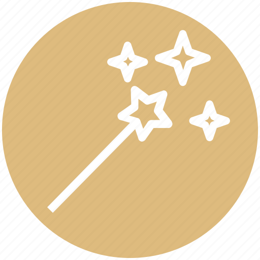 halloween, halloween magic stick, magic stick, magic wand, magician wand icon